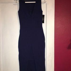 Lulus XS Dress Dark Blue